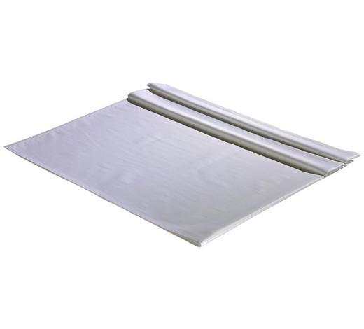 TISCHDECKE Textil Jacquard Weiß 130/220 cm - Weiß, Basics, Textil (130/220cm)