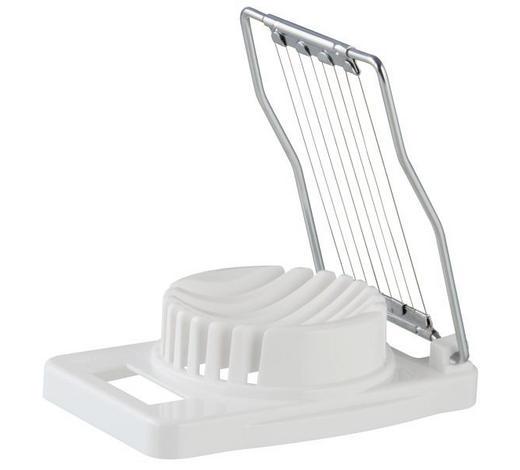 KRÁJEČ VAJEC - bílá, Basics, kov/umělá hmota (11/8cm) - Homeware Profession.