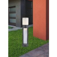 WEGELEUCHTE - Anthrazit/Opal, MODERN, Kunststoff/Metall (11/50cm)
