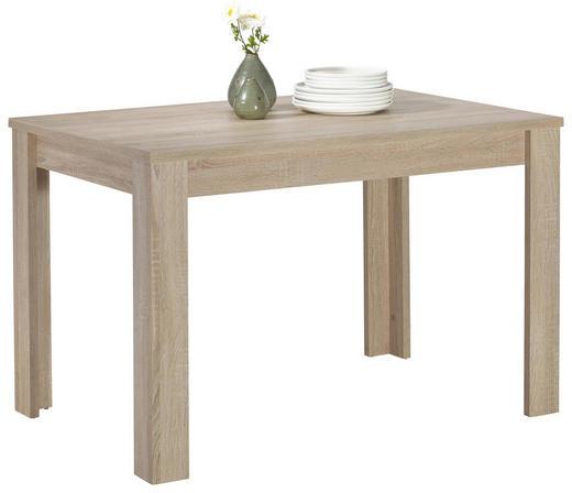 ESSTISCH rechteckig Eichefarben - Eichefarben, Design, Holzwerkstoff (120/80/78cm) - Carryhome