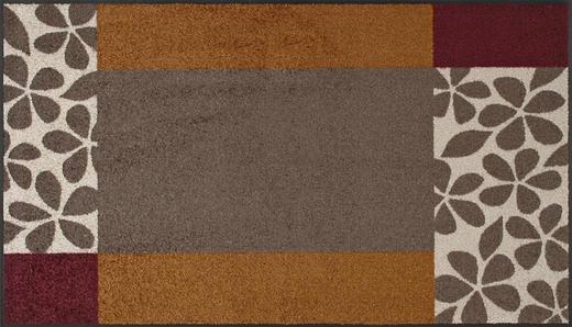 FUßMATTE 75/120 cm Graphik Braun - Braun, Basics, Kunststoff/Textil (75/120cm) - Esposa