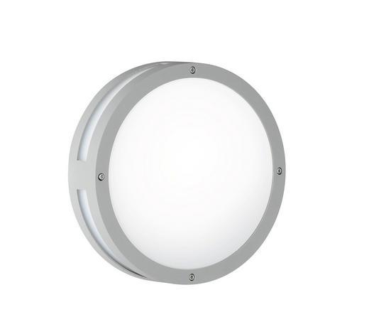 AUßENLEUCHTE - Anthrazit, Design, Kunststoff/Metall (30/9,2cm)