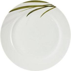 MATTALLRIK - vit/grön, Klassisk, keramik (27cm) - Ritzenhoff Breker