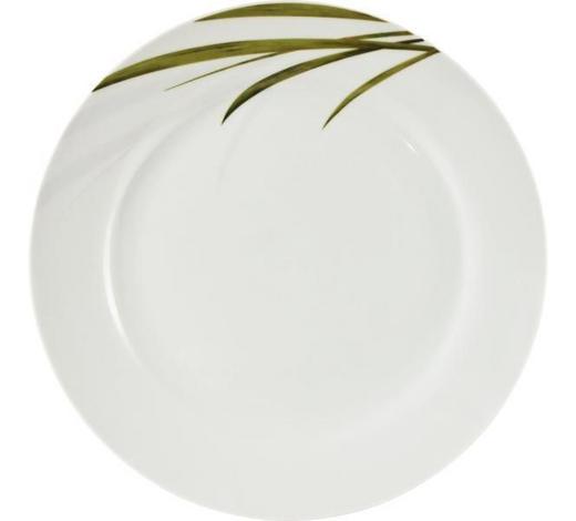 SPEISETELLER 27 cm  - Weiß/Grün, KONVENTIONELL, Keramik (27cm) - Ritzenhoff Breker