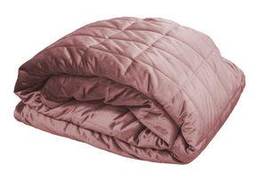 SÄNGÖVERKAST - rosa, Design, textil (260/260cm)