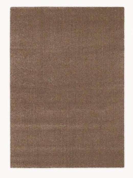 WEBTEPPICH  65/130 cm  Hellbraun - Hellbraun, Basics, Textil (65/130cm) - Novel