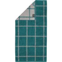HANDTUCH  - Smaragdgrün, KONVENTIONELL, Textil (50l) - Cawoe