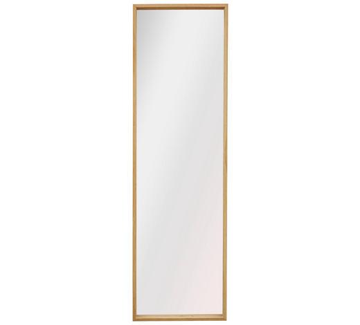 SPIEGEL Eiche Eichefarben  - Eichefarben, Design, Glas/Holz (42,5/142,5/5cm)