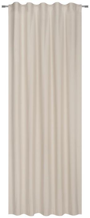 GARDINLÄNGD - sandfärgad, Basics, textil (140/255cm) - Esposa