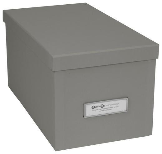 KARTONAGE 29,5/16,5/15 cm - Grau, Basics, Karton (29,5/16,5/15cm)