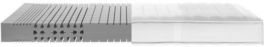 KALTSCHAUMMATRATZE 90/200 cm - Weiß, Basics, Textil (90/200cm)
