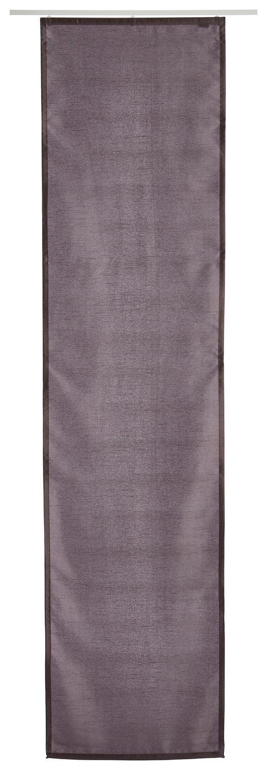FLÄCHENVORHANG   blickdicht  60/245 cm - Anthrazit, Basics, Textil (60/245cm)