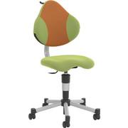 Drehstuhl - Orange/Grün, Basics, Kunststoff/Textil (45/86-100/53cm) - Paidi