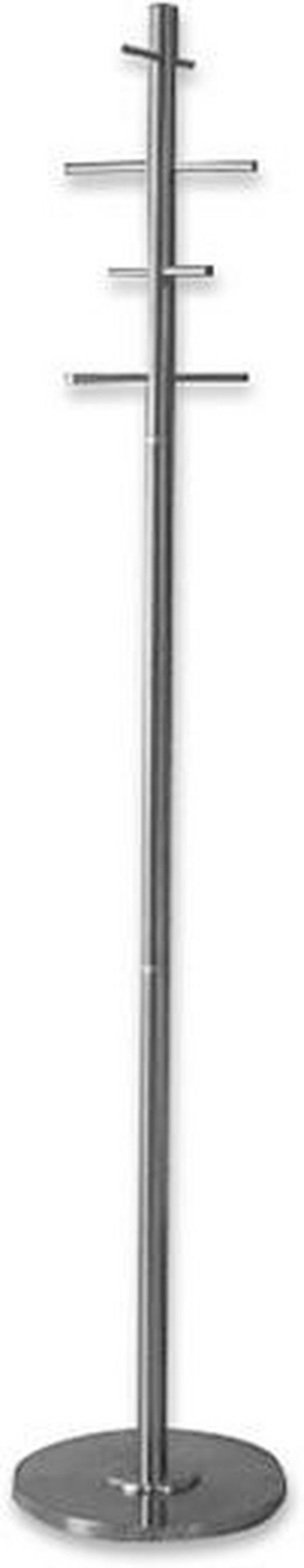 KLEIDERSTÄNDER Edelstahlfarben - Edelstahlfarben, Design, Metall (35/183/35cm) - CARRYHOME