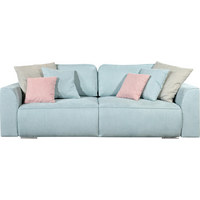 TROSJED NA RAZVLAČENJE - stara ružičasta/siva, Design, drvni materijal/tekstil (250/87/129cm) - TI`ME