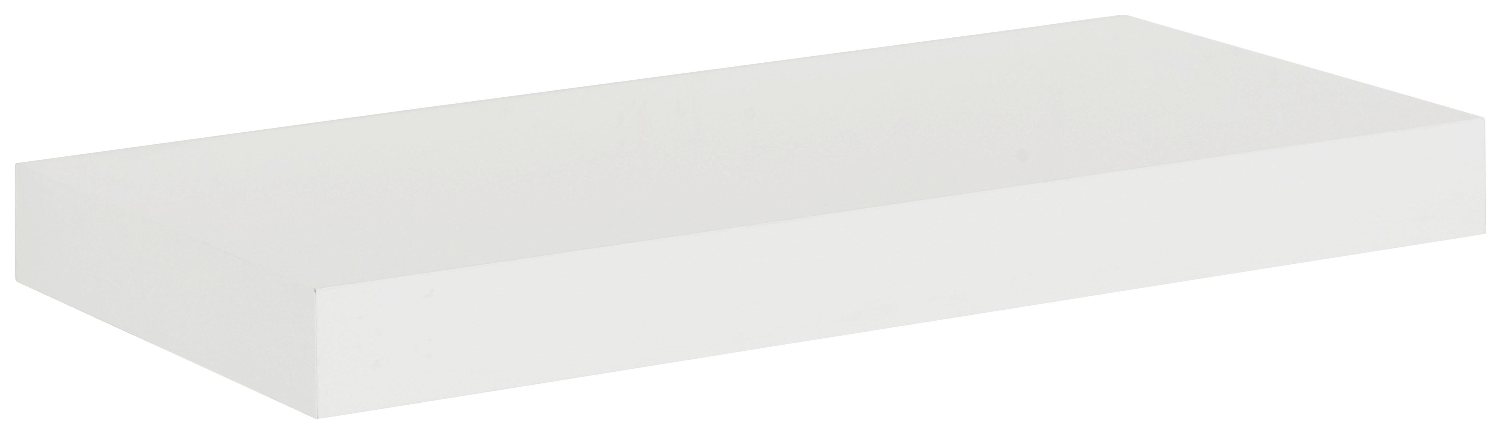 WANDBOARD Weiß - Weiß, Basics, Holz (100/4/24cm) - MÖMAX modern living