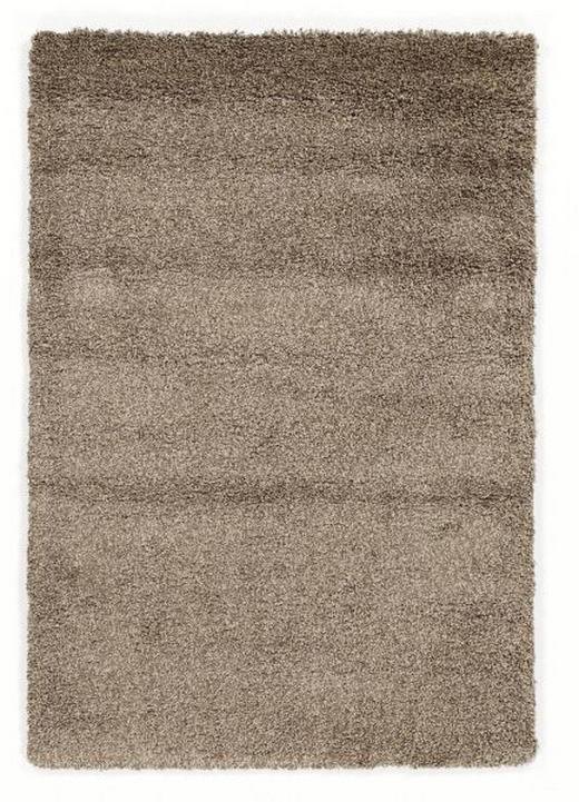 HOCHFLORTEPPICH  160/230 cm  gewebt  Hellbraun - Hellbraun, Basics, Textil (160/230cm) - NOVEL