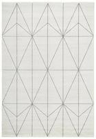 WEBTEPPICH   Creme, Grau - Creme/Grau, Textil (60/110cm) - Novel