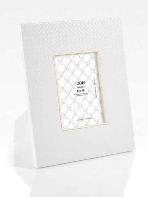 BILDERRAHMEN  Weiß - Weiß, Design, Kunststoff (26,5/31,5/1,5cm) - Joop!
