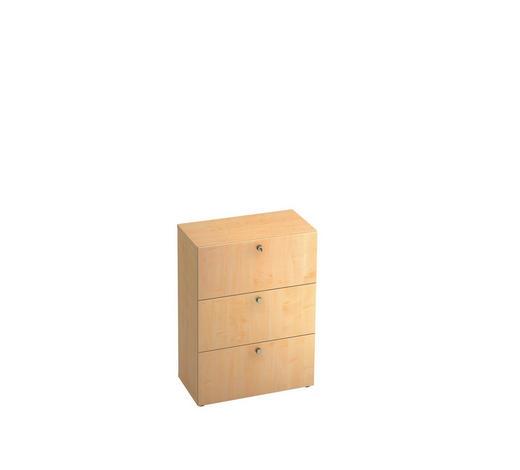 HÄNGEREGISTERELEMENT - Ahornfarben/Alufarben, KONVENTIONELL, Holzwerkstoff/Kunststoff (80/110/42cm)