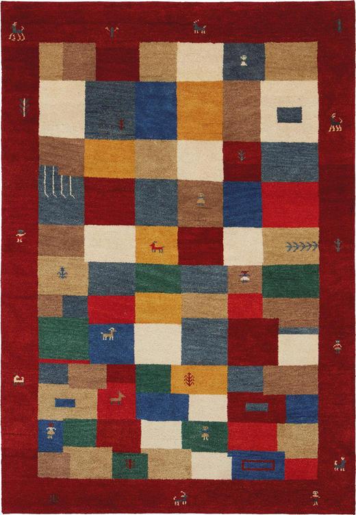 ORIENTTEPPICH 60/90 cm - Rot/Multicolor, LIFESTYLE, Textil (60/90cm) - Esposa