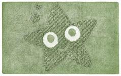 BADEMATTE  Mintgrün  50/80 cm     - Mintgrün, KONVENTIONELL, Kunststoff/Textil (50/80cm) - Esposa