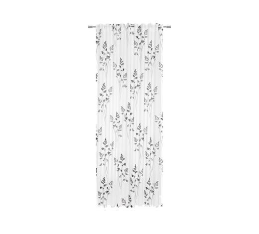 FERTIGVORHANG  halbtransparent   140/255 cm - Anthrazit, LIFESTYLE, Textil (140/255cm) - Esposa