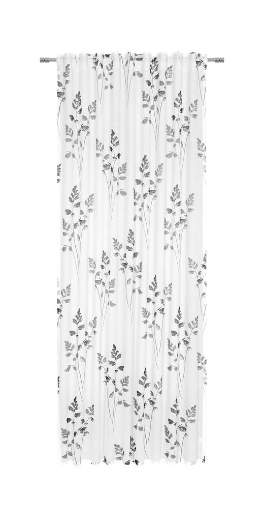 FERTIGVORHANG  halbtransparent   140/255 cm - Anthrazit, ROMANTIK / LANDHAUS, Textil (140/255cm) - ESPOSA