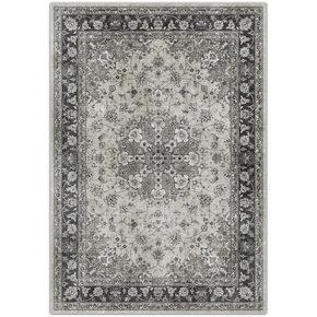 VÄVD MATTA - grå, Klassisk, textil (200/290cm) - Novel
