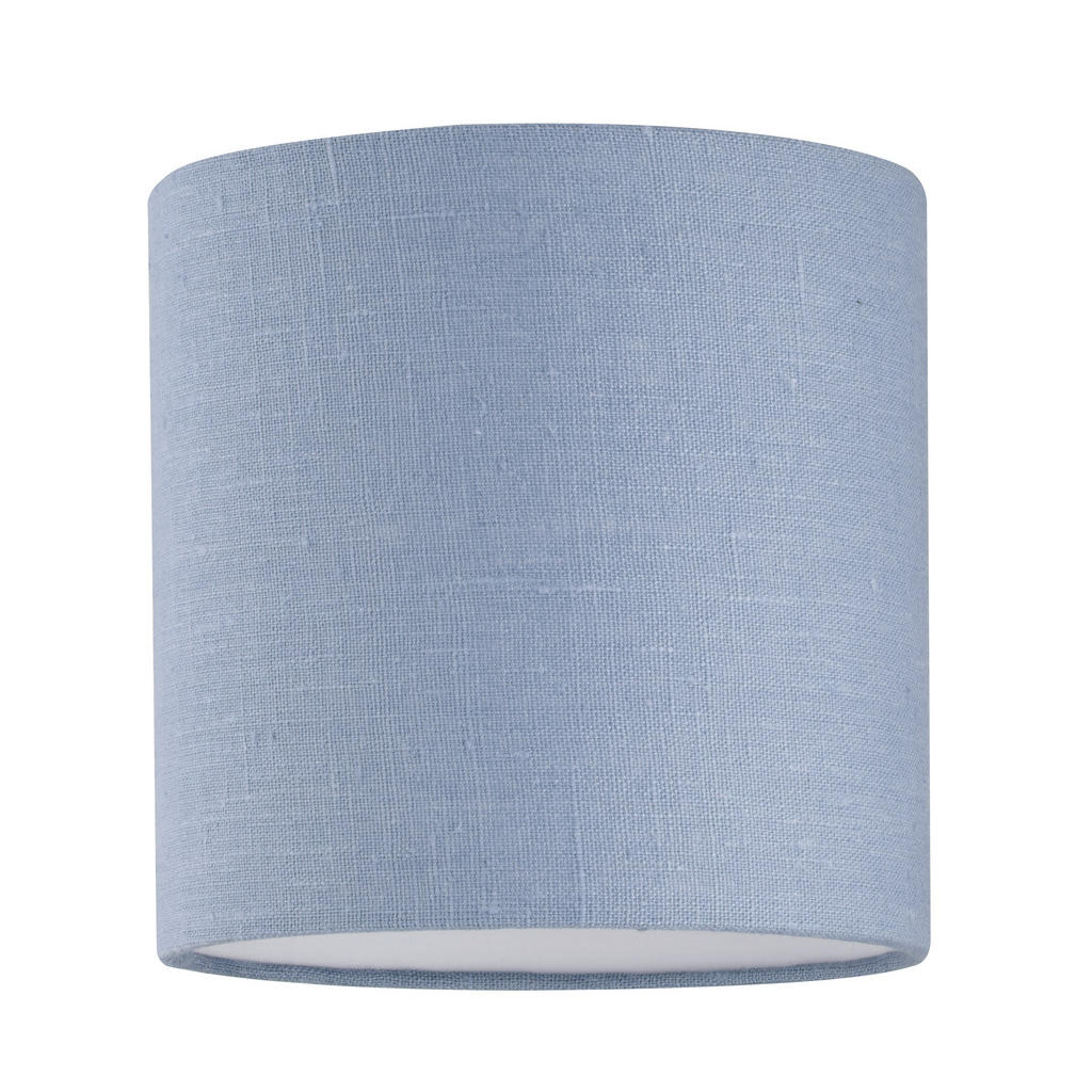 XXXLutz Leuchtenschirm blau textil