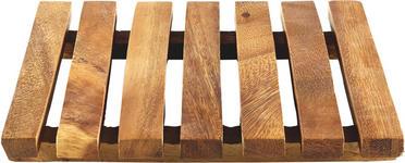 TOPFUNTERSETZER - Akaziefarben, Basics, Holz (18,5/2,5cm) - Homeware