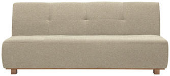SCHLAFSOFA in Textil Beige  - Beige, Design, Holz/Textil (202/88/103cm) - Novel