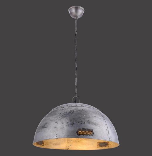 HÄNGELEUCHTE - Grau, Trend, Metall (60/60/120cm)