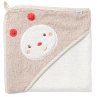 KAPUZENBADETUCH - Rosa/Weiß, Basics, Textil (80/80cm) - Fehn