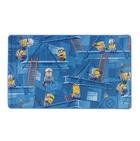 MINIONS KINDERTEPICH  100/165 cm  Blau - Blau, LIFESTYLE, Textil (100/165cm)