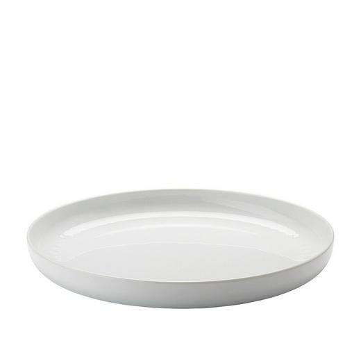 SCHALE Keramik Porzellan - Weiß, Basics, Keramik (32/4cm)