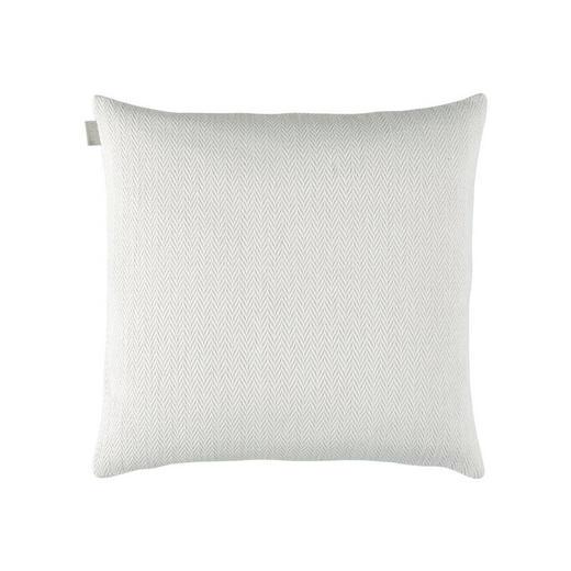 KISSENHÜLLE Weiß 50/50 cm - Weiß, Design, Textil (50/50cm) - Linum
