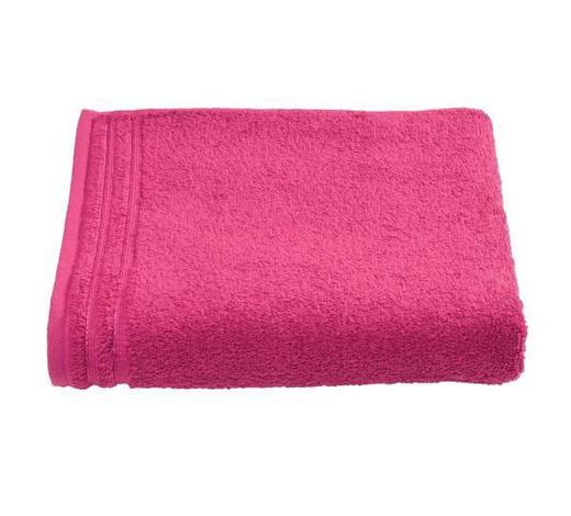 RUČNÍK, 50/100 cm, pink - pink, Basics, textil (50/100cm) - Vossen