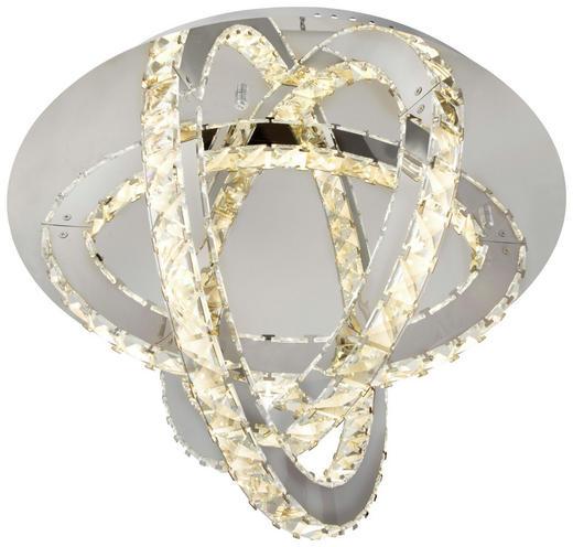 LED-DECKENLEUCHTE - Design, Glas/Metall (50/31cm)