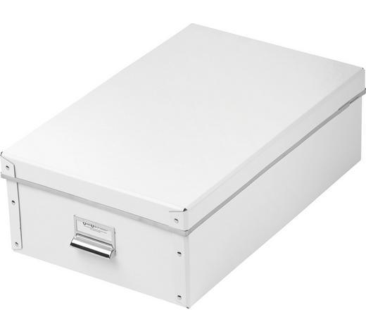 KARTONAGE Karton Weiß  - Weiß, Basics, Karton (46/14,5/28,5cm) - Boxxx