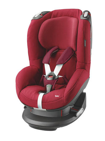 Kinderautositz Tobi - Rot/Schwarz, Basics, Kunststoff/Textil (45/73/64cm) - Maxi-Cosi
