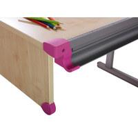 ECKENSCHUTZ Pink - Pink, KONVENTIONELL, Kunststoff (17,5/10,5/5,3cm) - Kettler HKS