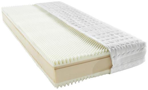 KOMFORTSCHAUMMATRATZE 140/200/ cm - Weiß, Basics, Textil (140/200/cm) - Novel