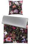 BETTWÄSCHE Makosatin Grau, Multicolor, Bordeaux 155/220 cm  - Bordeaux/Multicolor, Design, Textil (155/220cm) - Ambiente