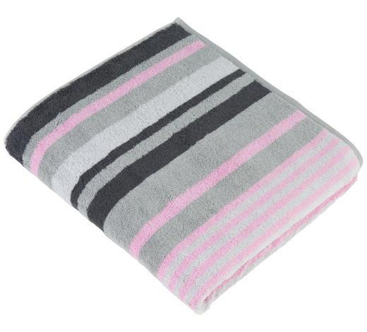 DUSCHTUCH 70/140 cm - Pink, Design, Textil (70/140cm) - Cawoe
