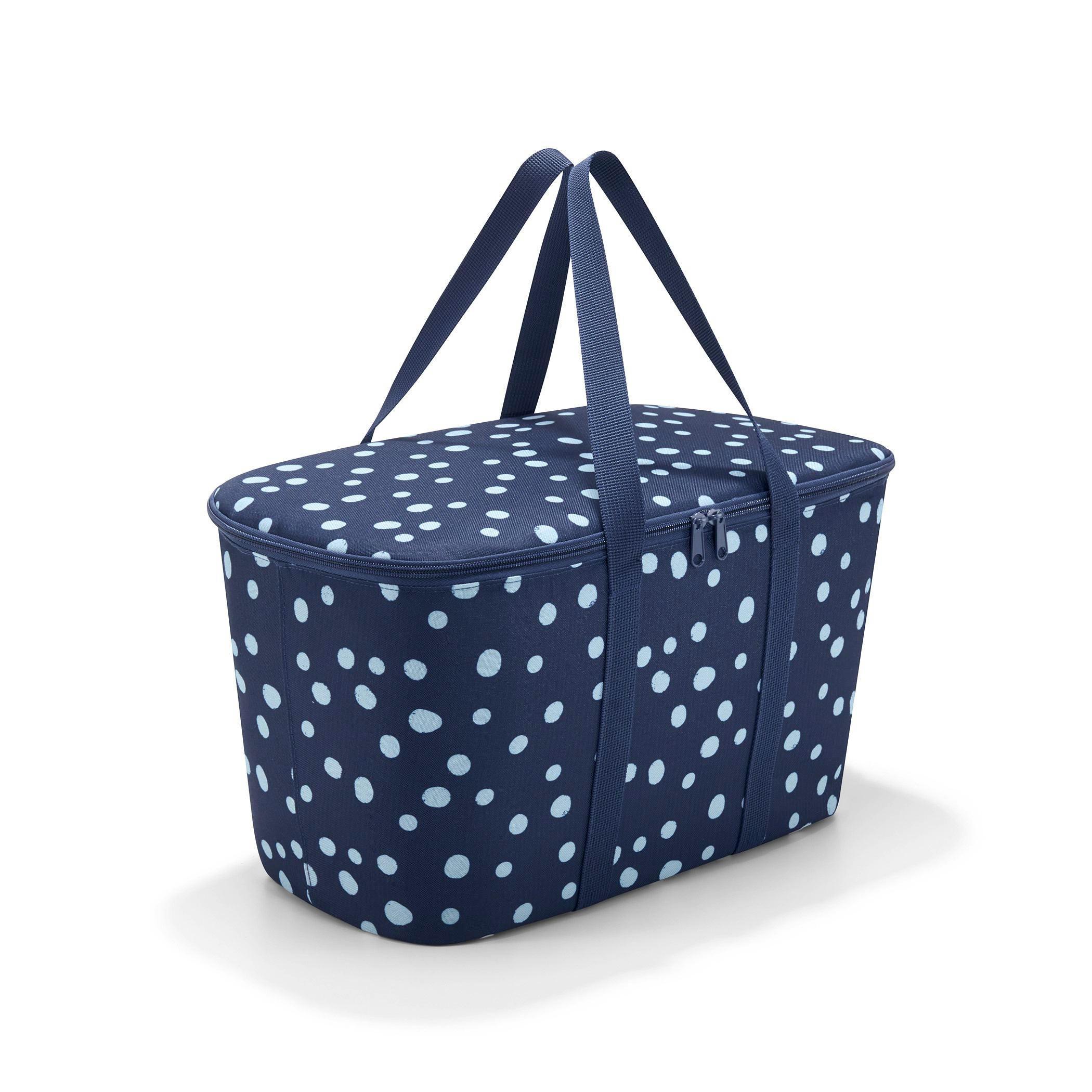 COOLERBAG SPOTS NAVY Blau - Blau, Textil (44,5/24,5/25cm) - REISENTHEL