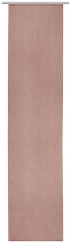 FLÄCHENVORHANG in Rosa - Rosa, Design, Textil (60/255cm) - NOVEL