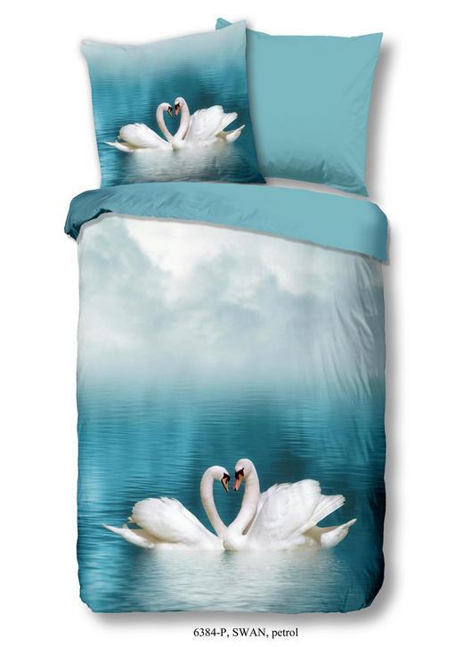 BETTWÄSCHE Renforcé Blau, Multicolor 135/200 cm - Blau/Multicolor, Trend, Textil (135/200cm)