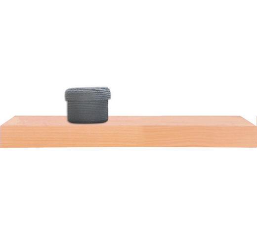 POLICE NÁSTĚNNÁ, buk, barvy buku - barvy buku, Basics, dřevo (60/25cm)