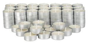 TEELICHT - Weiß, Basics, Metall (19/19/5cm) - Boxxx